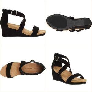 Lucky Brand  Women's Kenadee Wedge Sandal Sz 8